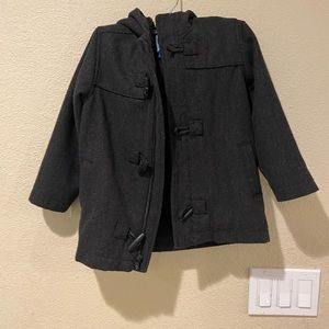Old navy boys wool pea coat size 5T GUC
